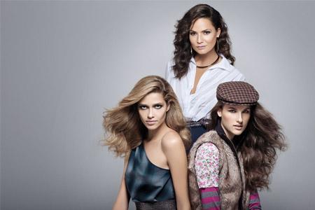 As modelos Luiza Brunet, Ana Beatriz Barros e Katia Selinger clicaram editoriais para comemorar a data