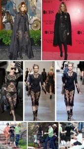 Glamurama não podia deixar de comentar o look que Carine Roitfeld desfilou na inauguração da loja da Ralph Lauren em Paris, na noite dessa quinta-feira.