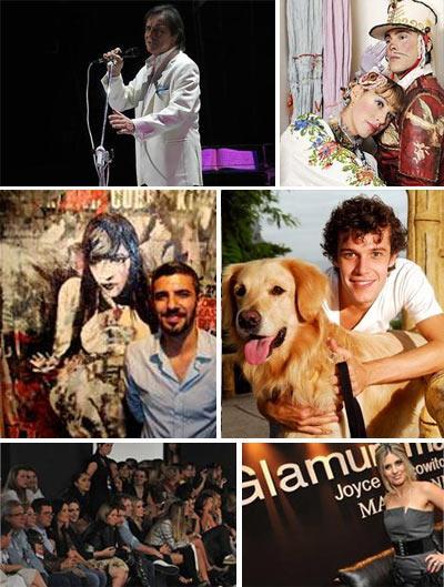 Roberto Carlos, Luana Piovani, Sandro Akel, Jayme Matarazzo e Crystal Fashion: o que foi notícia no fim de semana