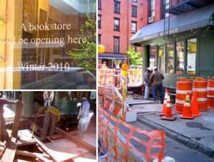 Marc Jacobs anuncia a abertura de uma livraria.
