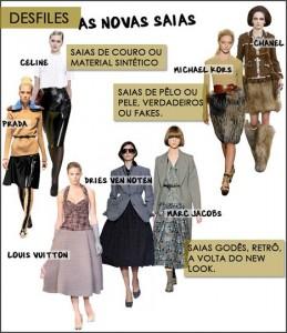 Encontre um modelo de saia para arrasar neste inverno. Saiba mais.