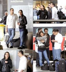 A princesa Charlotte Casiraghi se juntou à massa em busca de trens na Itália, já que seu avião particular não pode levantar vôo.