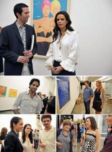 O jantar armado  na Luciana Brito Galeria em torno da exposição do norte-americano Alex Katz, na noite dessa segunda-feira, reuniu colecionadores, artistas e antenados do mundo das artes.
