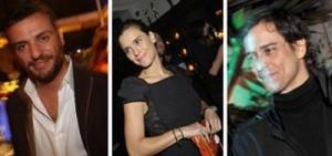 """Elenco de """"Passione"""", próxima novela das 8 da Globo, Carolina Dieckmann, Rodrigo Lombardi e Marcello Antony falam do triângulo amoroso que viverão na trama."""