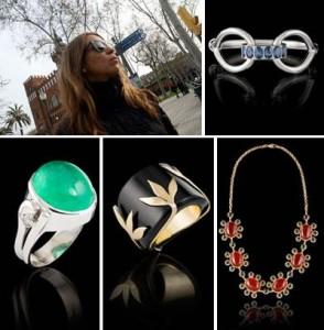 """A empresária Maria Helena Cabral recebe convidados na loja Esencial, nesta quarta-feira, para o evento """"Assinaturas: O fascinante mundo da joalheira contemporânea""""."""