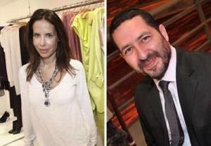 Ana Paula Junqueira e Yonatan Shani armam jantar para Yehuda Berg, nesta quarta-feira.