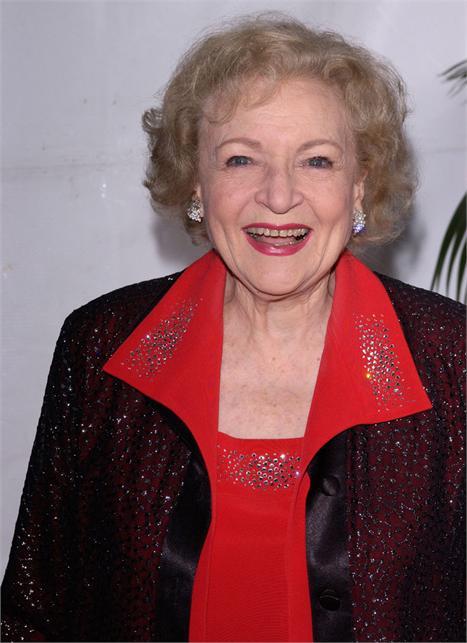 Betty White: apresentadora de mão cheia