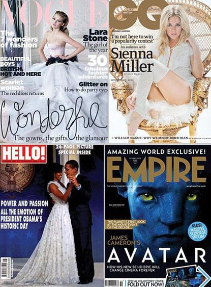"""Capas da """"Vogue"""", """"GQ"""", """"Hello!"""" e """"Empire"""": entre as melhores"""