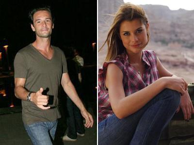 Rodrigo Santoro e Alinne Moraes: casal no cinema