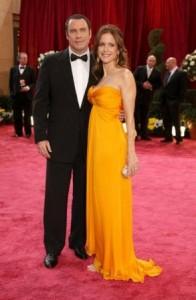 Imprensa norte-americana cogita suposta intenção da gravidez de Kelly Preston, mulher de John Travolta.