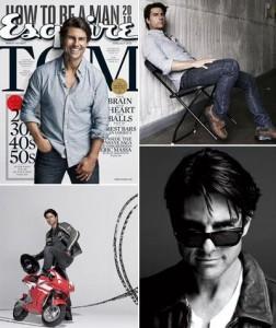 """Tom Cruise estampa a capa da """"Esquire"""" de junho. Saiba mais…"""
