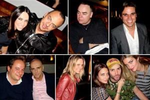 Fernanda Barbosa e Marcos Campos convidaram amigos para celebrar o aniversário de Raquel Silveira, nessa terça-feira, no Bar Número.