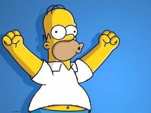 Homer Simpson é eleito o melhor personagem dos últmos 20 anos.
