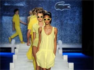 Lacoste nega rumores de que a estilista Catherine Malandrino assumirá cargo de diretora criativa da marca.