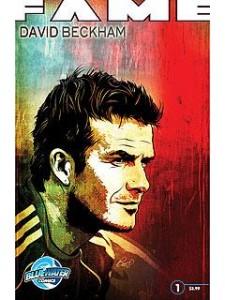 David Beckham ganha gibi com história sobre vida e carreira dele.
