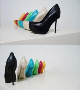 Sapatos do estilista Alexandre Herchcovitch foram criados em parceria com a Schutz.