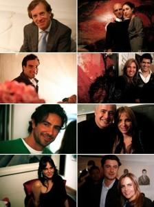 Jacqueline Shor armou festa para comemorar o aniversário de três amigos: Guto Otaviani, Kiko Salomão e Beto Altilio.