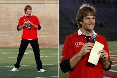 Novo look de Tom Brady: polêmico