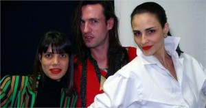 Dudu Bertholini e Rita Comparato falam sobre o desfile da Neon, no lounge Glamurama.