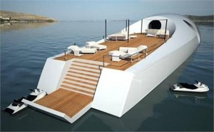 Sir Richard Branson lança o U-010 é um submarino projetado para explorar águas profundas com total segurança e conforto.