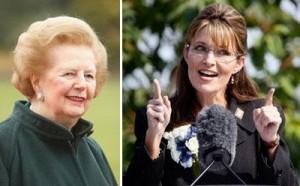Sarah Palin quer conhecer a ex-primeira-ministra britânica, Margaret Thatcher.