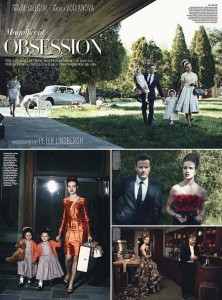 """Veja o resultado da volta de Peter Lindbergh na """"Vogue"""" norte-americana."""