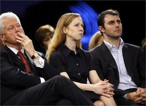 Chelsea Clinton: filhinha do papai