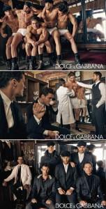 Nova campanha masculina da Dolce & Gabbana mostra o lado artesanal da moda.