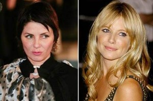 Things got heated between Sienna Miller and Sadie Frost, Jude Law's ex-wife.