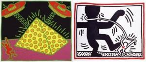 """""""Keith Haring – Selected Works"""" traz obras inéditas do artista a São Paulo e ao Rio."""