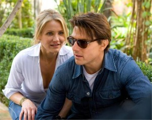 """Who departs in Brazil in the month of July is the duo Tom Cruise and Cameron Diaz, partners in the movie """"Knight & Day""""."""