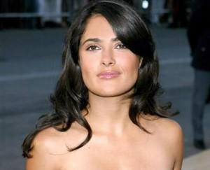 Do you know what one of Salma Hayek's favorite snacks is, glamurette? Fried insects.
