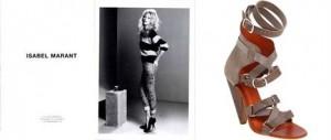 Isabel Marant assina contrato com Kate Moss e passa a ser vendida na Barneys.
