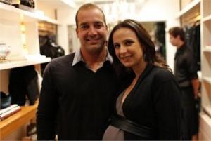 Nasceu na última quinta-feira o primeiro filho de Fabiana Delfim e Ricardo Esper.