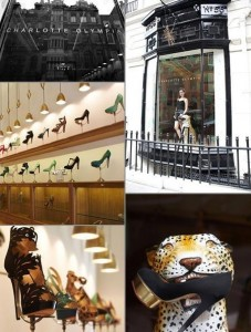 Designer Charlotte Olympia has just opened an incredible store in Maddox Street, London.