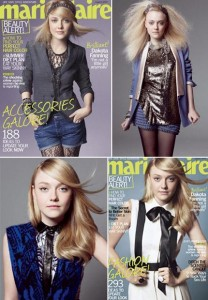 Teen magazines are now in the past for Dakota Fanning.