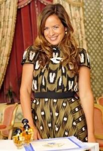 Jade Jagger colabora para a Guerlain.