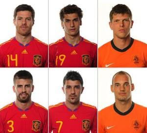 Apesar do Brasil não estar na final desta Copa, o jogo entre Espanha e Holanda vai ser dos mais assistidos.