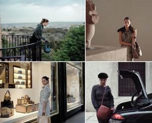Alessandra Ambrosio, Adriana Lima e Rosie Huntington-Whiteley estão juntas em uma nova campanha de moda.