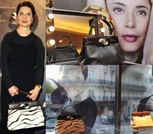 Adivinha quem é a nova designer de bolsas da Bvlgari? A atriz e ex-modelo, Isabella Rossellini.