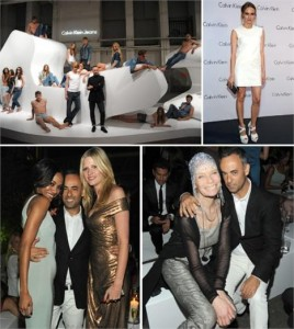 Francisco Costa arma festão para convidados da Calvin Klein na Semana de Moda de Berlim.
