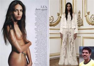 "Transexual brasileira destaque na ""Vogue"" francesa é filha de Toninho Cerezo."