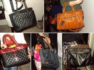 Veja as bolsas desfiladas no evento dessa quarta-feira na Casa Gamurama.