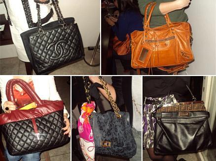 Modelos Chanel, Balenciaga, Chanel, Lanvin e Fendi: fiéis companheiras
