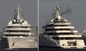 Eclipse, the biggest and most expensive yacht in the world, is back on scene, although, not for such glamorous reasons.