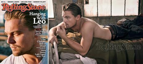 "Leonardo DiCaprio: on ""Rolling Stone"" this August"