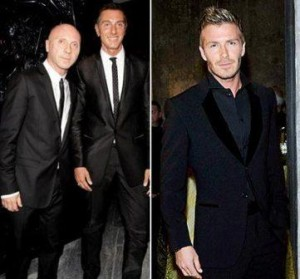 For Domenico Dolce and Stefano Gabbana, there is one man who revolutionized the men´s fashion world: David Beckham.