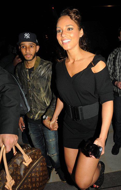 Swizz Beatz e Alicia Keys: olhos abertos