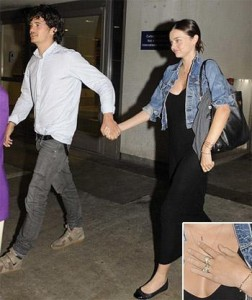 Miranda Kerr and Orlando Bloom, who got married, last week as we said here, already returned from their honey-moon.