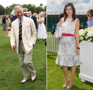 Cartier hosted a polo event this Sunday, in England, that included a list of distinguished guests.
